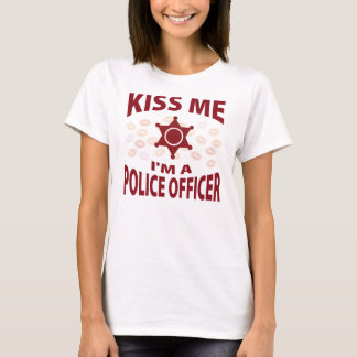 Kiss Me I'm A Police Officer T-Shirt