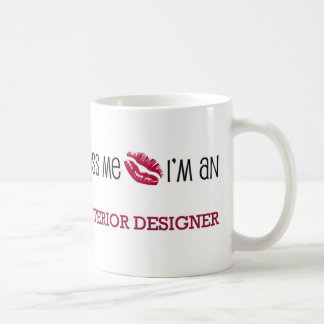 Kiss Me I'm an INTERIOR DESIGNER Coffee Mug