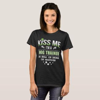 Kiss Me I'm an Irish Dog Trainer T-Shirt