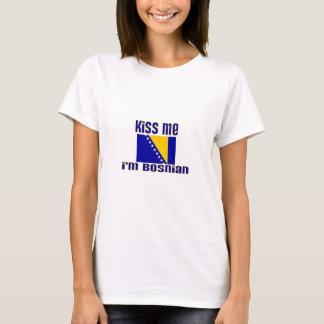 Kiss Me I'm Bosnian T-Shirt