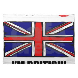 kiss_me_im_british placemat