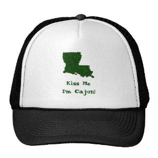 Kiss Me I'm Cajun St. Patrick's Shamrock Hat