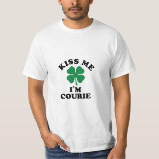 Kiss me, Im COURIE Tshirts