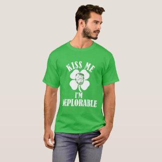 Kiss Me, I'm Deplorable T-Shirt