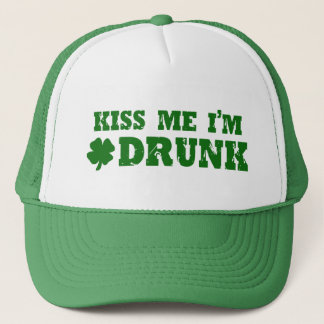 Kiss Me I'm Drunk Trucker Hat