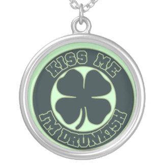 Kiss me Im Drunkish Personalized Necklace