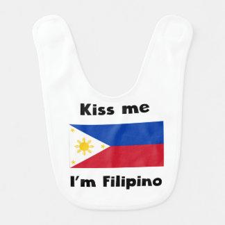Kiss Me I'm Filipino Bib