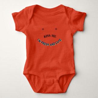 Kiss Me I'm Fresh and Cute Baby Bodysuit