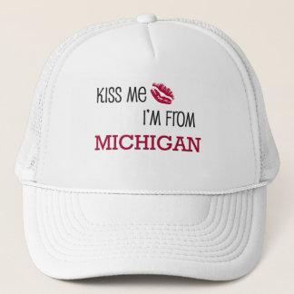 Kiss Me I'm From MICHIGAN Trucker Hat