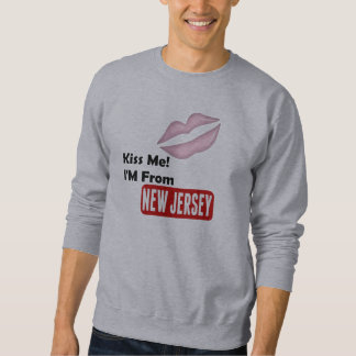 Kiss Me, I'M From New Jersey Sweatshirt