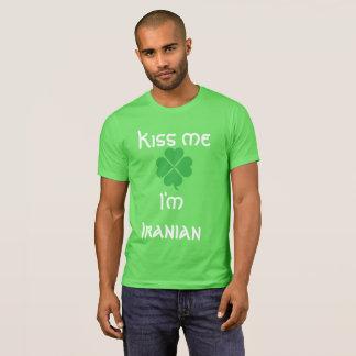 Kiss me I'm Ir...anian T-Shirt