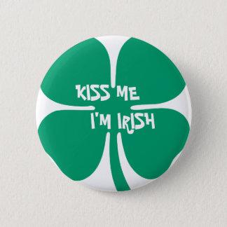 Kiss Me, I'm Irish 2 Inch Round Button