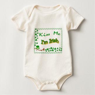 Kiss me, I'm Irish Baby Bodysuit