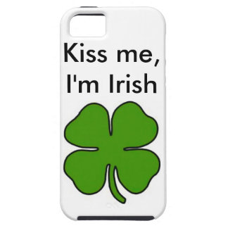 Kiss me, I'm Irish Case For The iPhone 5