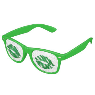 Kiss Me I'm Irish Fun Green St Patrick's Day Party Sunglasses