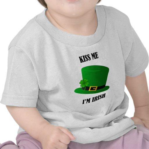 Kiss Me I'm Irish - hat Tees