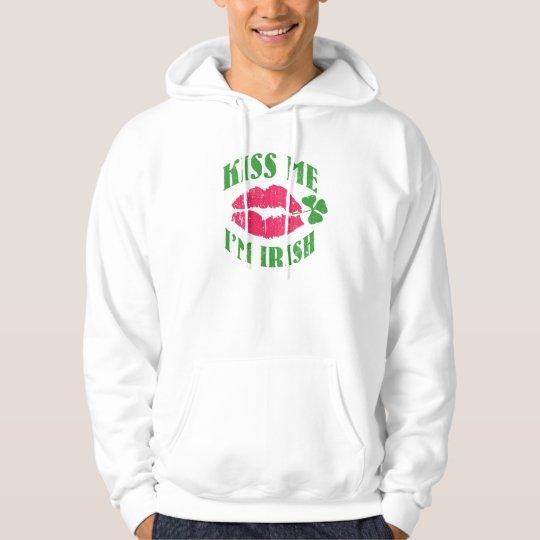 Kiss me - I'm Irish Hoodie