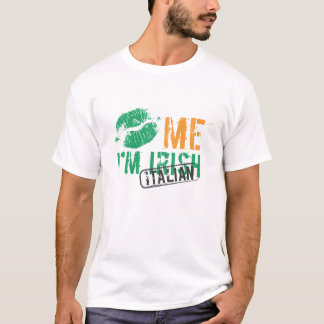 Kiss Me I'm Irish / Italian T-Shirt