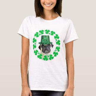 Kiss me I'm Irish Pug t-shirt