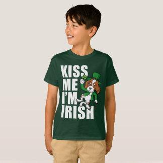 Kiss Me I'm Irish Setter T-Shirt