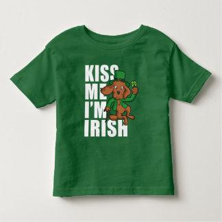 Kiss Me I'm Irish Setter Toddler T-shirt