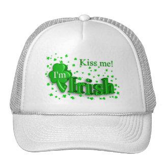 Kiss Me I'm Irish St. Patrick's Day Hat