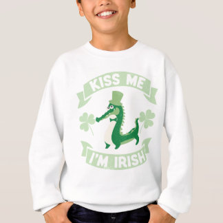 Kiss Me I'm Irish St Patrick's Day Sweatshirt