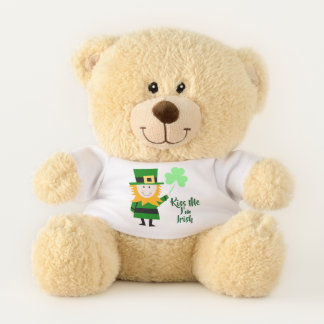 Kiss Me I'm Irish / St Patrick's Day Teddy Bear