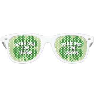 Kiss Me I'm Irish Sunglasses