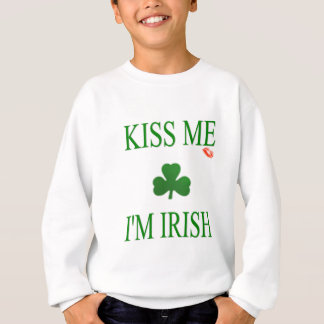 Kiss Me Im Irish Sweatshirt