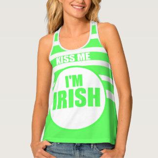 KISS ME, I'm IRISH Tank Top