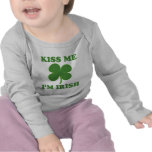 Kiss me i'm Irish Tshirts