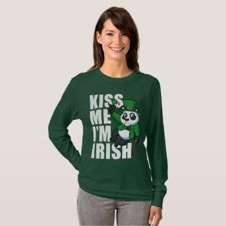 Kiss Me I'm Irish Water Spainel T-Shirt