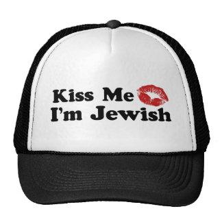 Kiss Me I'm Jewish Trucker Hat