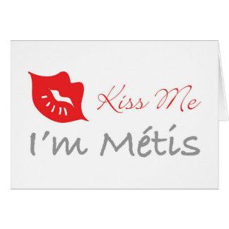 Kiss Me - I'm Metis - Valentine Card
