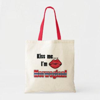Kiss me I'm Norwegian Tote Bag