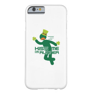 Kiss Me I'm Runner St Patrick's Day Barely There iPhone 6 Case