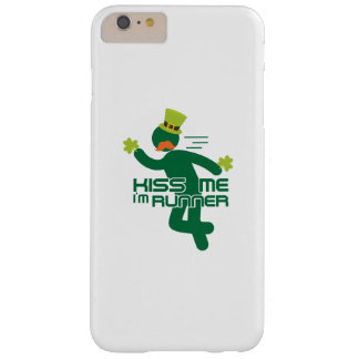 Kiss Me I'm Runner St Patrick's Day Barely There iPhone 6 Plus Case