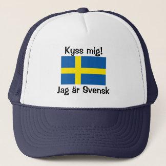 Kiss Me! I'm Swedish Trucker Hat
