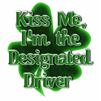 Kiss ME, I'm the Designated Driver Standing Photo Sculpture