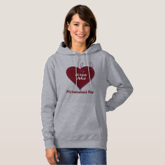 Kiss Me It's Valentine's Day Hoodie