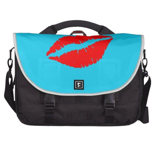 Kiss Me Laptop Computer Bag