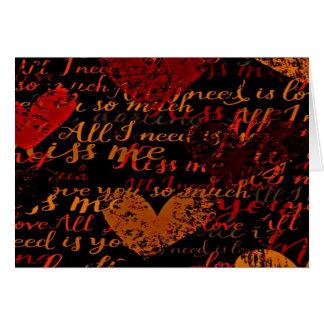 Kiss Me Miss Me Red Card