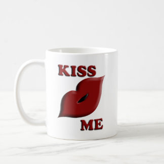 Kiss Me Now Coffee Mug