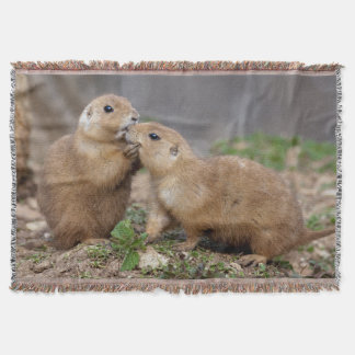 Kiss Me Quick Throw Blanket