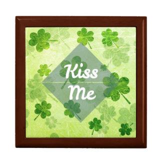Kiss Me Shamrock Gift Box