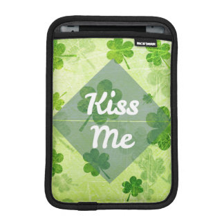 Kiss Me Shamrock iPad Mini Sleeve