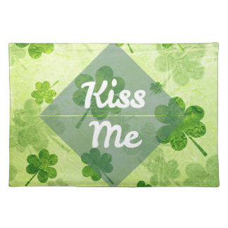 Kiss Me Shamrock Placemat