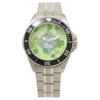 Kiss Me Shamrock Watch