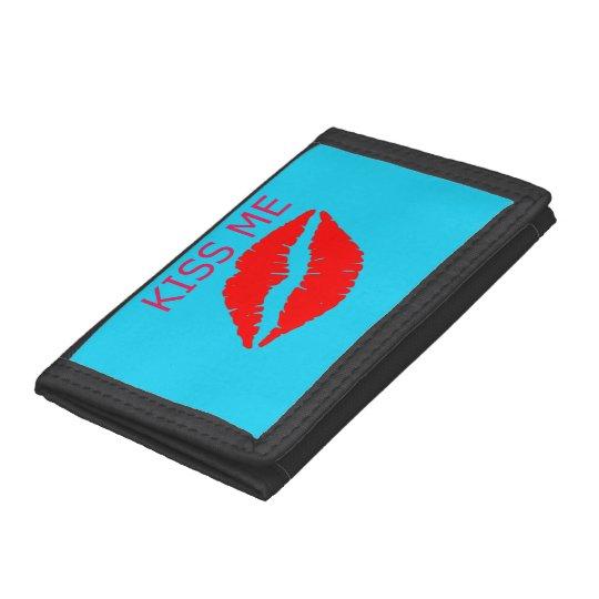 Kiss Me Tri-fold Wallet
